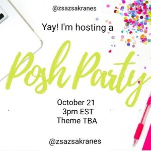 Please Share My First Posh Party!